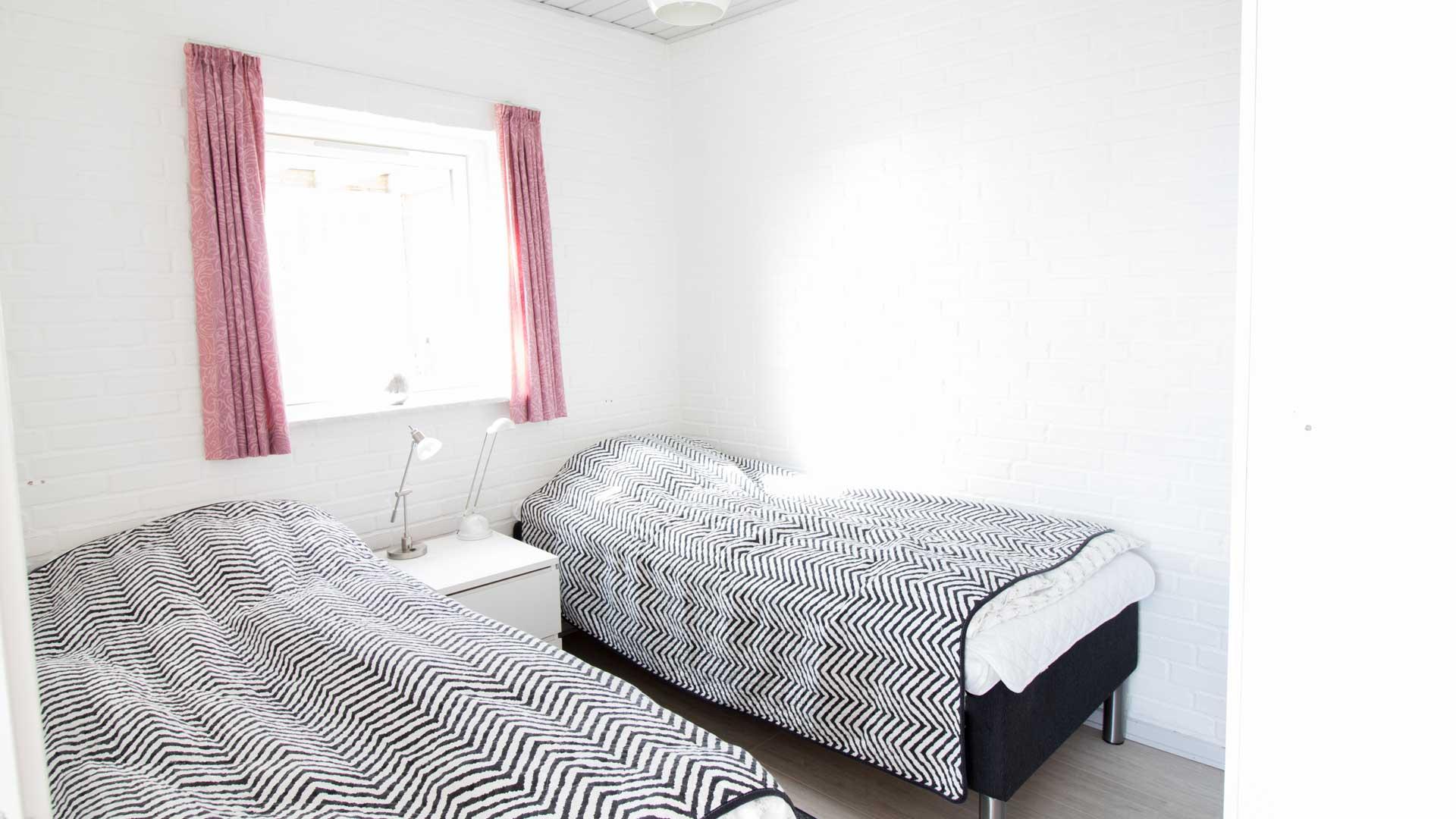 Lejlighedens soveværelse